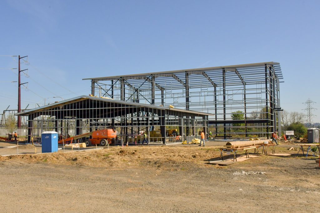 PGE Sherwood Training Center Pre-engineered Structure