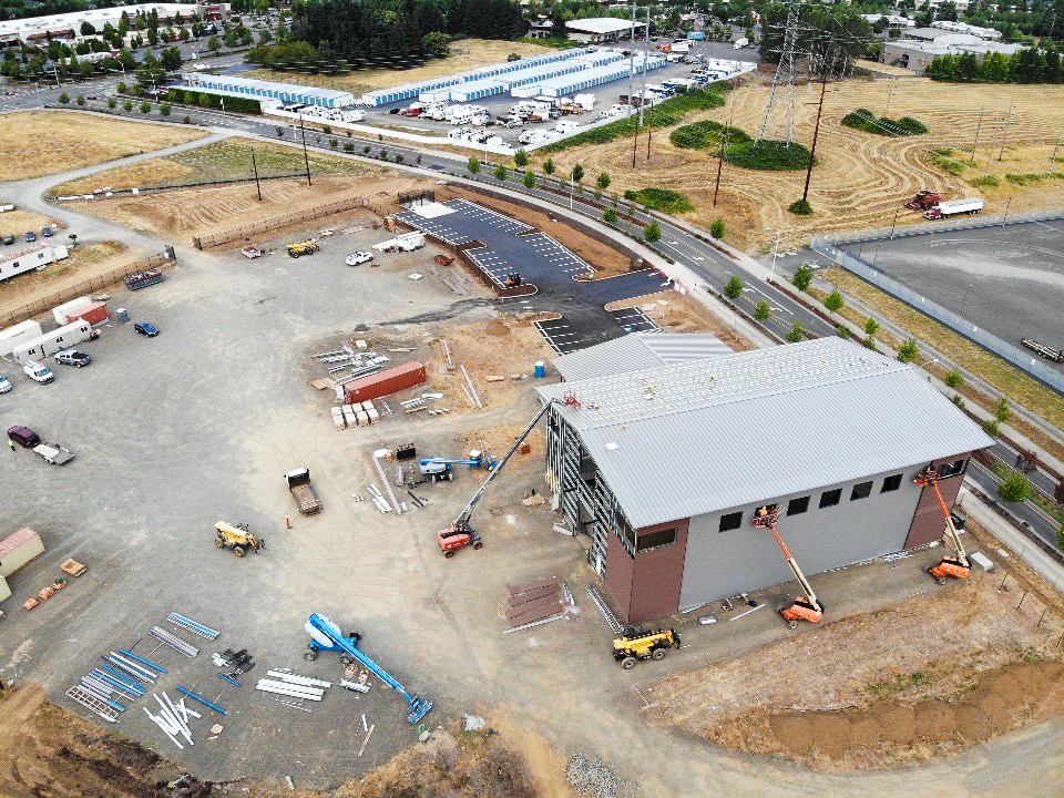 PGE Sherwood Line Training Center nears completion; featured in the DJC